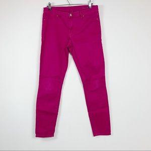 BlankNYC womens skinny pants  size 31 Magenta